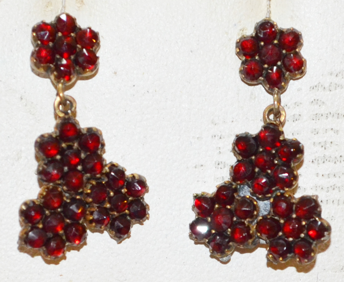 ANTIQUE GARNET EARRINGS