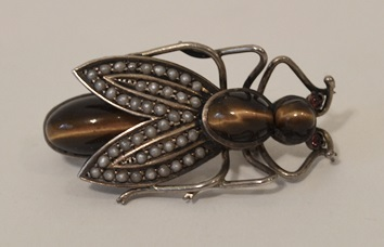 AUSTRIAN ANTIQUE FLY PIN