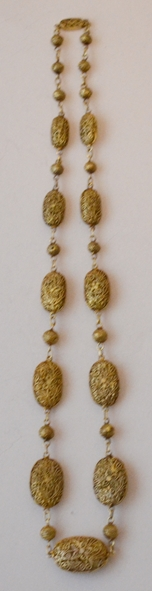 ANTIQUE CHINESE FILIGREE NECKLACE